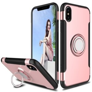 Accessories - iPhone XS Max Ring Shockproof slim rose cover